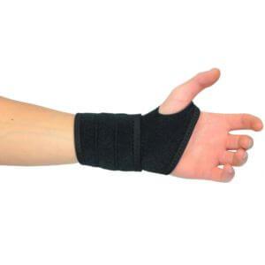 bandage magnétique en situation sur un poignet