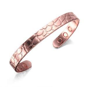 bracelet magnétique cuivre caro