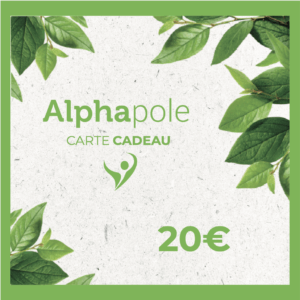 Carte Cadeau 20 Euros Alphapole