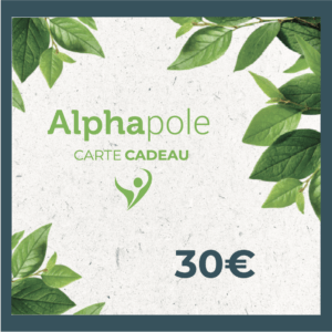 Carte Cadeau 30 Euros Alphapole