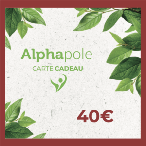 Carte Cadeau 40 Euros Alphapole