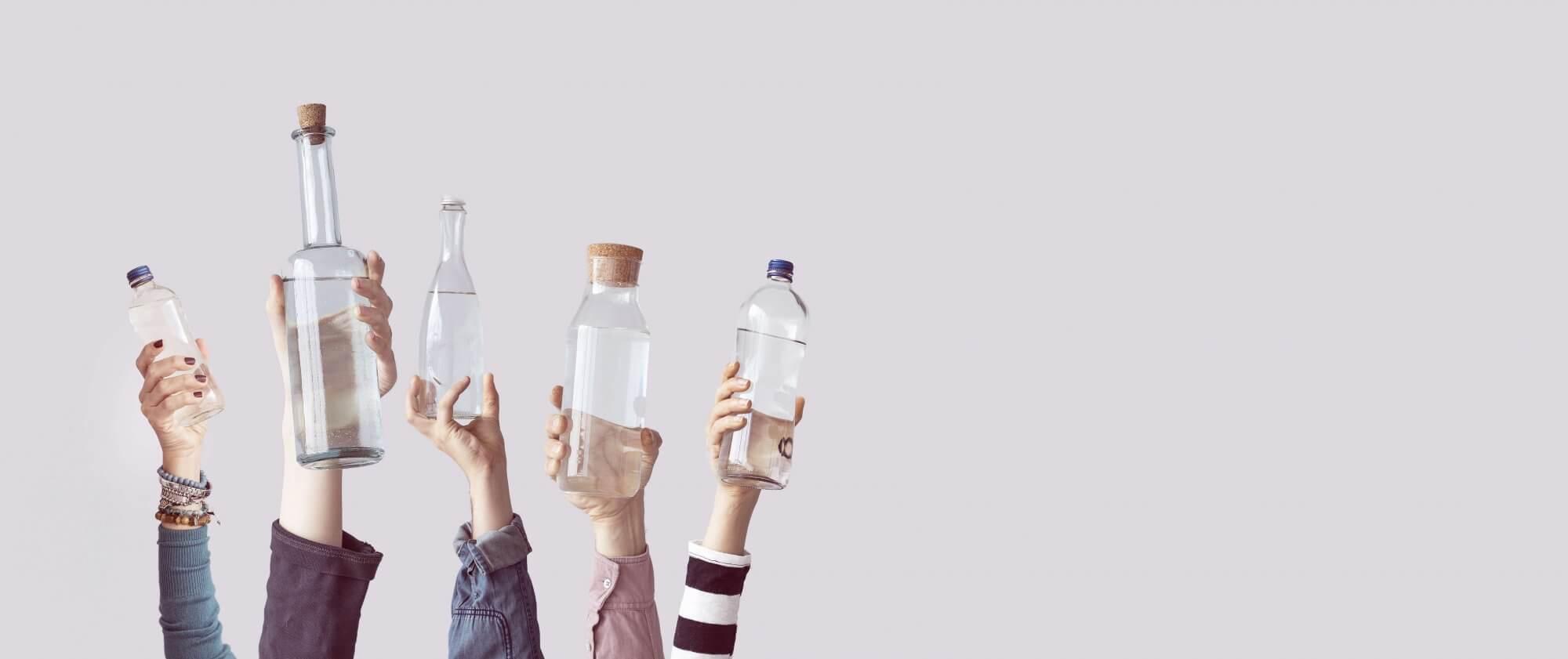 eau du rovinet vs eau en bouteille