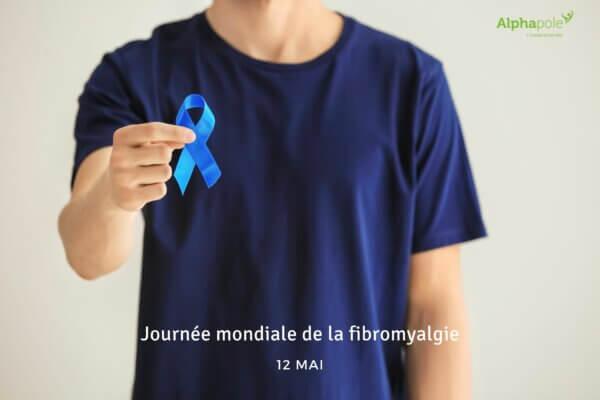 ruban bleu journée mondiale de la fibromyalgie